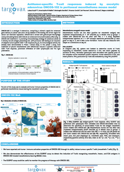 13th International Adenovirus Meeting, September 2018 – POSTER