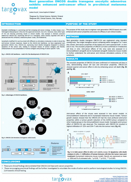 ASGCT, virtual conference Next-gen virus poster 12 -15 May 2020